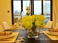 保利山水城,别墅的享受复式三层,精装六房,业主诚心卖!