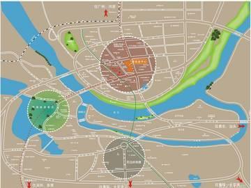 佳兆业中心区域图