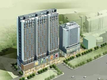 合立方国际公寓 效果图