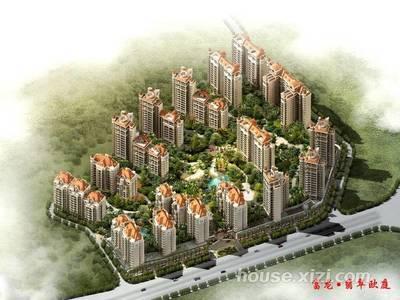 富龙翡翠欧庭155平豪装4房仅售167万随时看