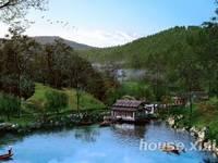 中海汤泉别墅豪宅 天然温泉 拥有一湖两水五山自然景观 免佣带看。