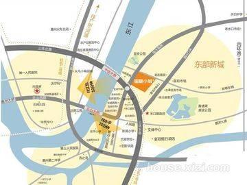 宏新蜜糖小城 项目区位图