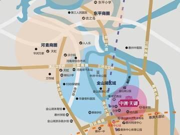 中洲天御 项目区位图