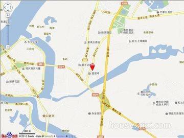 宝安山水龙城区位图