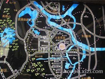 大坤金洲广场 区域图