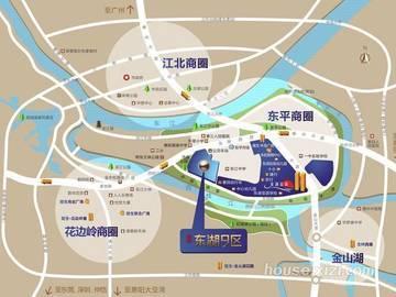 隆生东湖9区区域图