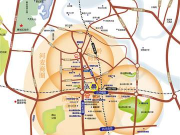 景富时代 交通图