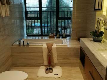 鼎峰国汇山 云墅样板房 洗手间