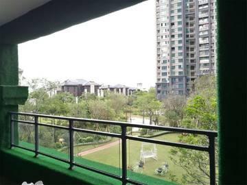鼎峰国汇山 云墅样板房 阳台
