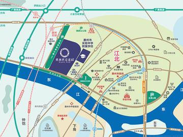 奥林匹克花园 区域地图