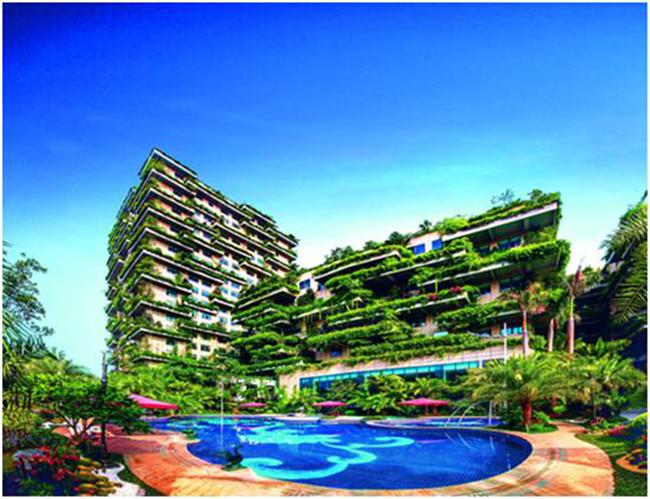 新加坡旁的森林城市——是碧桂园对垂直绿化的首次国际探索.