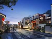 中国风小四合院 宅园 园屋 屋院 方圆东江月岛