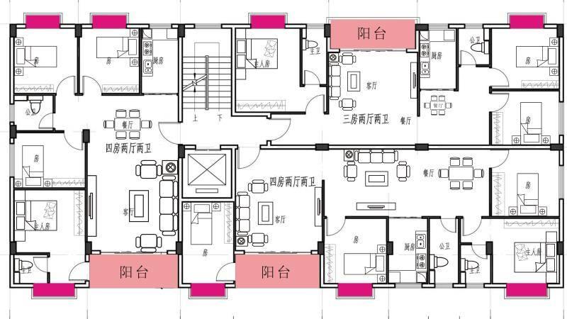 水口碧桂园旁有红本新房带电梯出售,110平4房南北通,70万起,可按揭,现房!