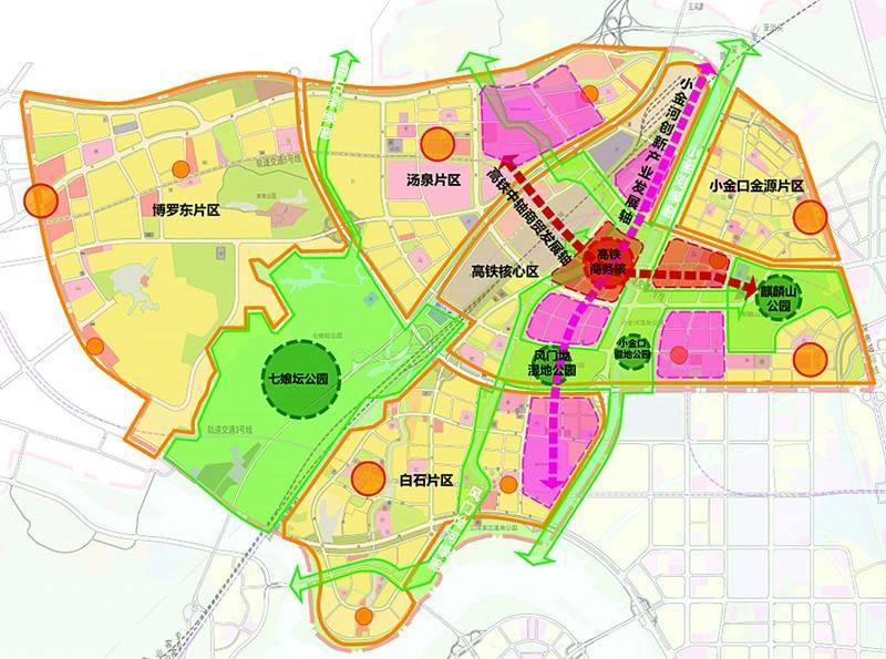 这意味着惠州高铁北站新城片区将是继金山湖高端居住区后,有望成为