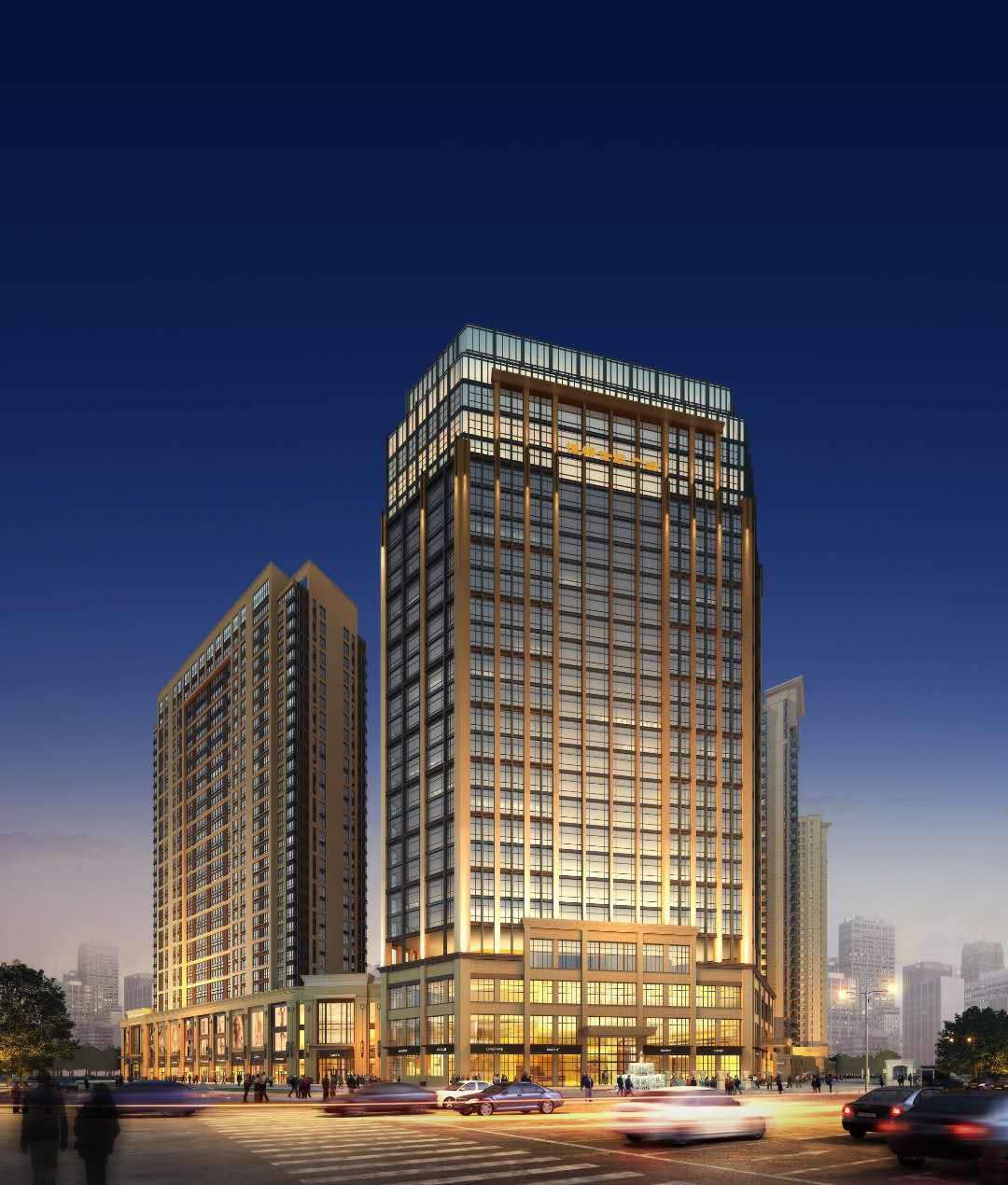 地铁口800米!恒裕世纪广场唯一五星级酒店旁精美一房一厅出售 投资过渡首选