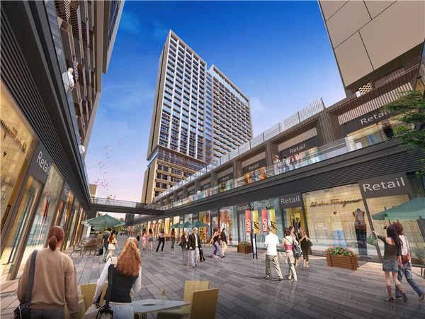 入住金山湖中心6万起,人人都应该拥有的公寓 商业整合体学校公园包围