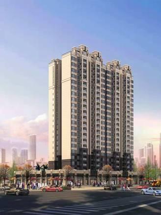 中信桥头旁 0首付新房 75-98平米 投资住家均可 去江北只要10分钟 免佣金
