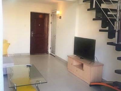钥匙在手 江北中惠城之恋复式一房,管理到位,家具齐全拎包入住