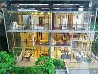 新房免佣别墅,前后看花园,靠近国际机场,临江别墅200万起买5层