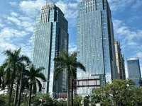 江北中心区,全新装修高层办公室,年收租10万,可按揭。租金抵月供