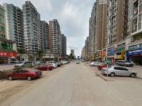 河南岸小区门口转角位临街商铺每月租金8000元