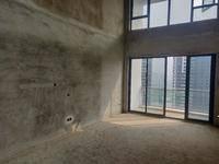 水岸城全新复式房!双层使用面积。可做5个房,视野无遮挡。