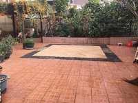 江南丽苑二期 三房两厅 276平米超大花园露台 业主诚心出售
