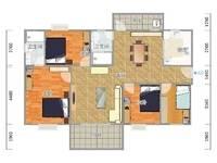 教师新村117平4房出售136万!房子装修漂亮,单价仅11624元!