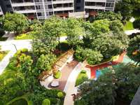 金山湖豪宅专区湖心岛星耀国际学区房 阳光4房仅售190万 花园中间 安静不尘