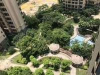 水口大社区196平6房,双阳台,南北通透,中间楼层,花园中间,安静舒适