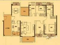 中信凯旋城 125平方 可做4到5房 南北通透看花园 看房有钥匙