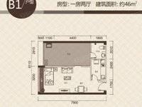 惠城区世贸大厦附近 茉莉花开 标准一房一厅 投资过度均可 生活交通便利