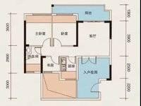 急售!急售!带装修,高层!出售恒和诺丁山3室2厅1卫100平米95万住宅