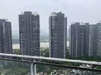 低于市场价 水岸城三期 毛坯复式江景四房 满五唯一税费低 高层阔景