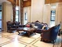 帝王级豪华装修 带私家电梯跟荷花池凉亭