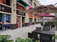 水口德桂佳园美食街商铺 面积30-55平方 层高6米 开发商统一招商 回报率高