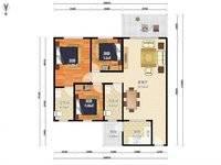 出售德明合立方国际公寓 德明华府3室2厅2卫113平米120万住宅