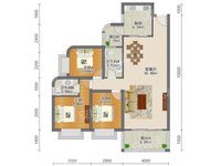 瑞和家园108平顶楼三房两厅两卫出售129万,顶楼天台独家使用,看房有钥匙!