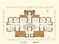 瑞峰公园里楼王单位221平毛坯五房出售360万!满2年,有钥匙,看房方便!