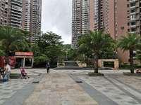 东江学府对面,花园小区鸿润叠韵,毛坯大4房南北通透花园中间