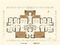 瑞峰公园里221平楼王带装修5房仅卖370万!三梯两户!超大入户空中花园!
