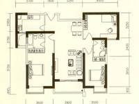 河南岸金城花园旁边 3室2厅急售110万 阳台朝花园