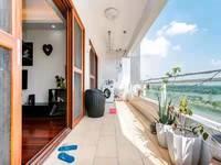 中海水岸城,一线江景房,超大阳台真实有效房源