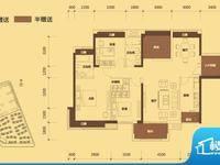 金山湖中信凯旋城 大4房 满五唯一 过户税费只要2万多 中间楼层 看房有钥匙