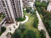 江北高档花园小区 全新毛坯三房成本价售 朝花园 视野好 楼层靓 采光空气非常好