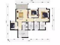 下铺瑞昌大厦128平精装大3房售价150万