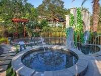 总价180万买整栋别墅 温泉入户 送150平花园 92 天然温泉