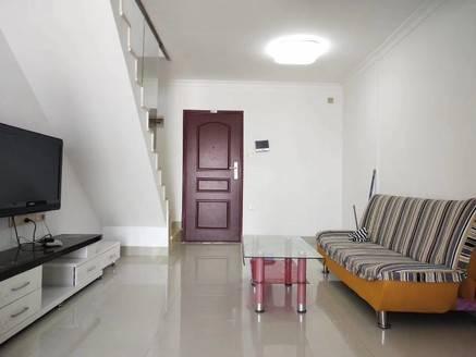 泰豪广场 标准电梯复式2房,公园旁,带学位可入户口,投资可出租办公自住