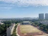 东江学府三期二区朝南稀缺两房,75平,高楼层视野无遮挡,售99万,看房有钥匙
