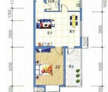 市中心麦地南方电网旁鸿业自由港精装标准一房一厅出售